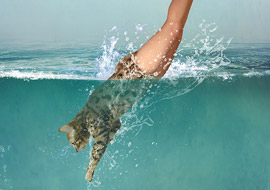 water-cat-Woman_Photoshop_S