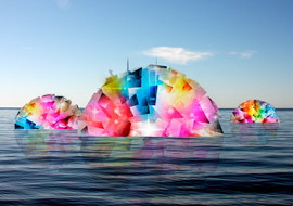 cubes-ball-in-sea-Abstract_Photoshop_S