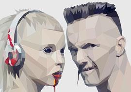 מחווה ללהקת Die-Antwoord