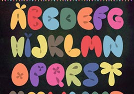 Font-Balloons-Graphic-Design-S